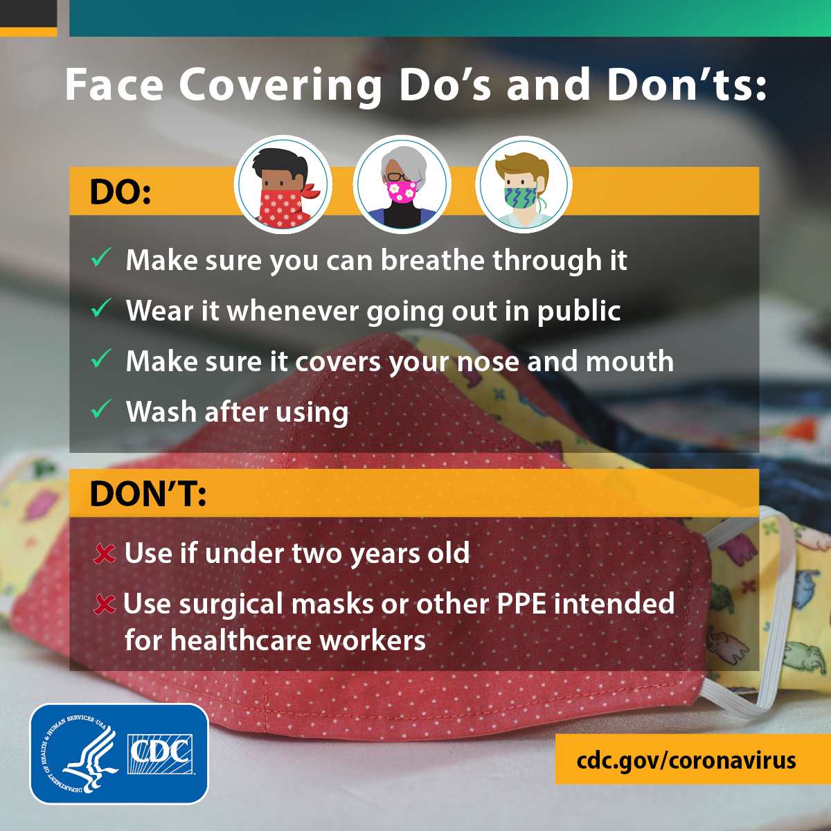 Face Coverings How-To